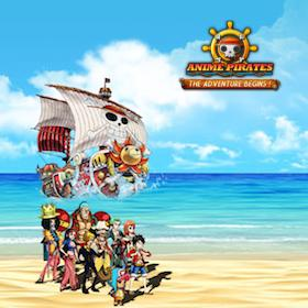 Anime Pirates: One Piece - Adventure Begins!